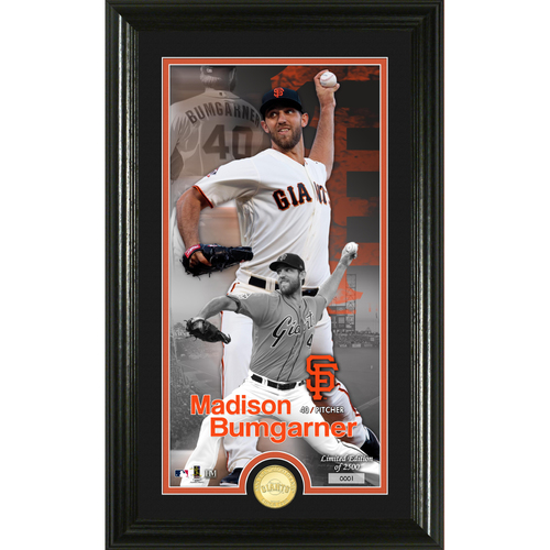 Photo of Madison Bumgarner  Supreme Bronze Coin Photo Mint