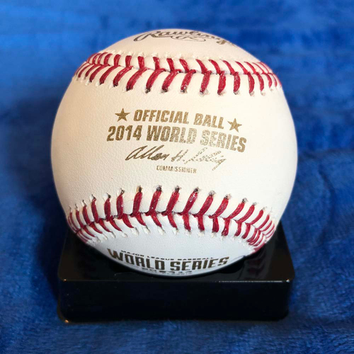 Photo of UMPS CARE AUCTION: 2014 World Series Baseball Signed by Joe Torre