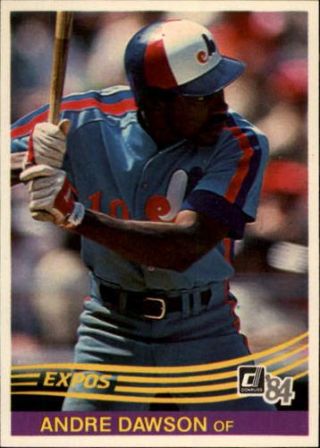 Photo of 1984 Donruss #97 Andre Dawson