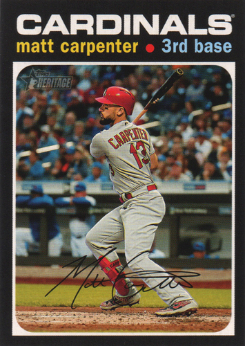 Photo of 2020 Topps Heritage #370 Matt Carpenter