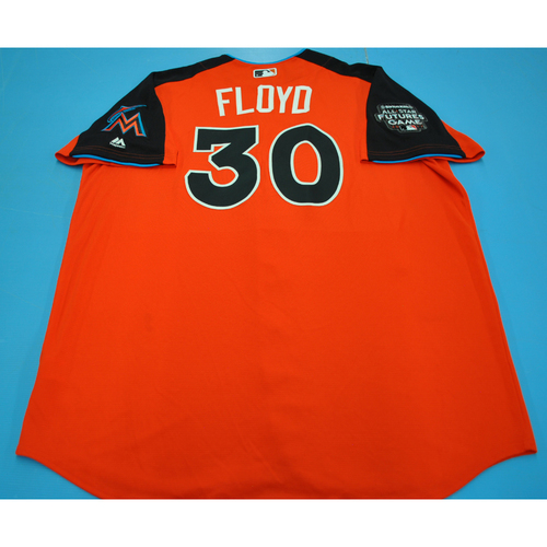 Photo of Game-Used Batting Practice Jersey - 2017 All-Star Futures Game - Cliff Floyd - Size 52 - Only Worn During Batting Practice