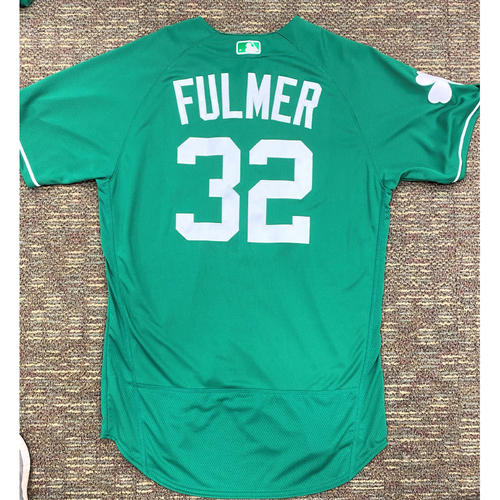 Michael Fulmer #32 Detroit Tigers Team-Issued 2019 St. Patrick's Day Jersey (MLB AUTHENTICATED)