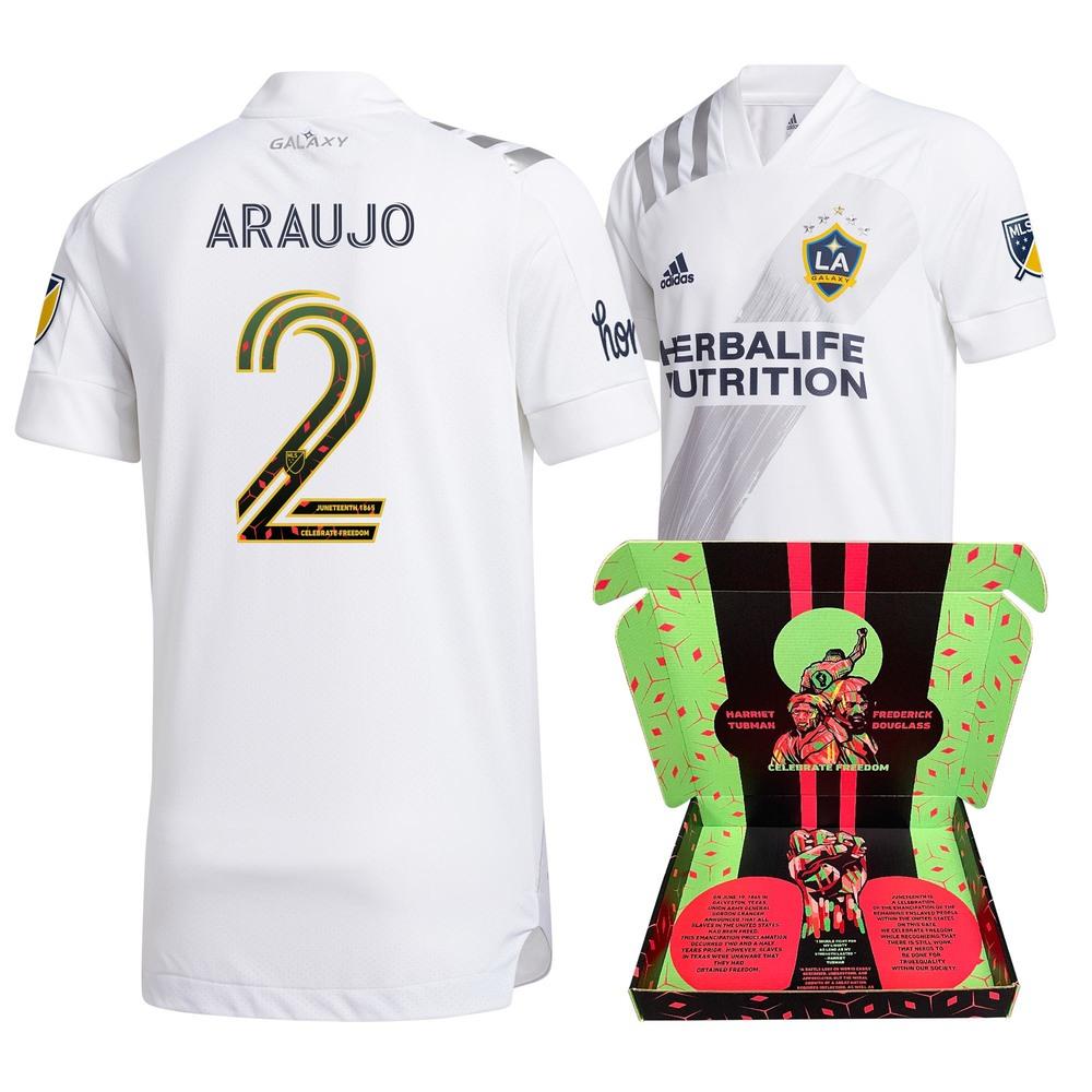 Julian Araujo Los Angeles Galaxy FC Match-Used & Signed