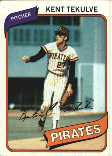 Photo of 1980 Topps #573 Kent Tekulve