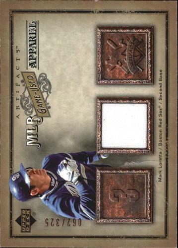 Photo of 2006 Artifacts MLB Game-Used Apparel #ML Mark Loretta Jsy/325