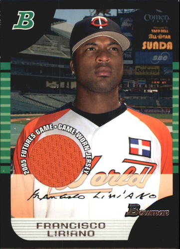 Photo of 2005 Bowman Draft Futures Game Jersey Relics #121 Francisco Liriano