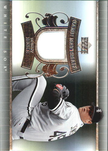 Photo of 2007 Upper Deck UD Game Materials #BJ Bobby Jenks S2