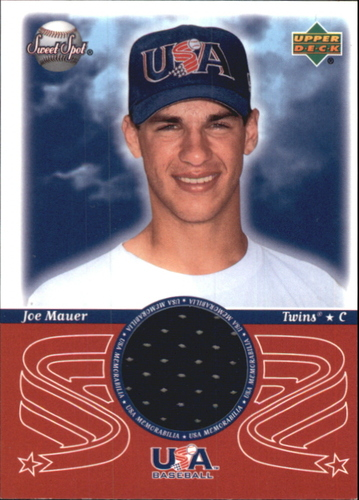 Photo of 2002 Sweet Spot USA Jerseys #JM Joe Mauer