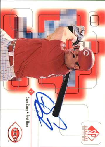 Photo of 1999 SP Signature Autographs #SC Sean Casey