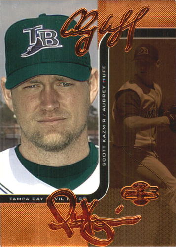 Photo of 2006 Topps Co-Signers Changing Faces Bronze #89A Aubrey Huff /Scott Kazmir
