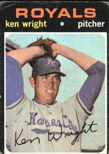 Photo of 1971 Topps #504 Ken Wright RC