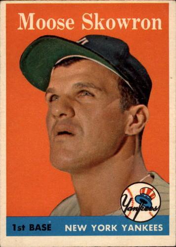 Photo of 1958 Topps #240 Bill Skowron