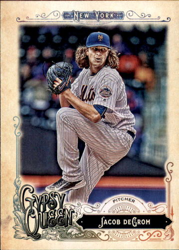 Photo of 2017 Topps Gypsy Queen #121A Jacob deGrom