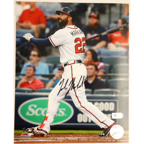 Photo of Holiday Deal of the Day: Nick Markakis Autographed Photo - Today Only 25% off!