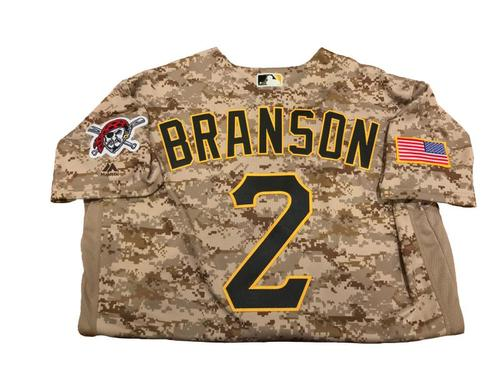 Jeff Branson Team-Issued Camo Jersey