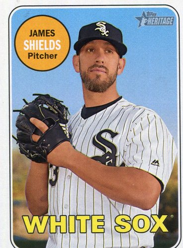 Photo of 2018 Topps Heritage #308 James Shields