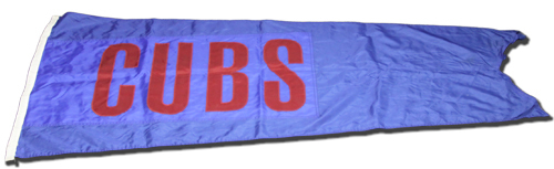 Photo of Wrigley Field Collection -- Scoreboard Flag -- Cubs