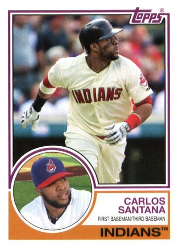 Photo of 2015 Topps Archives #210 Carlos Santana