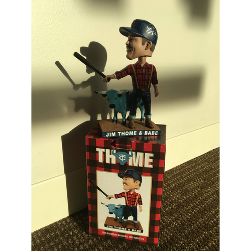 Photo of Autographed Jim Thome Bobblehead