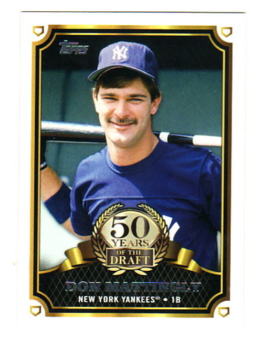 Photo of 2014 Topps 50 Years of the Draft #50YD4 Don Mattingly