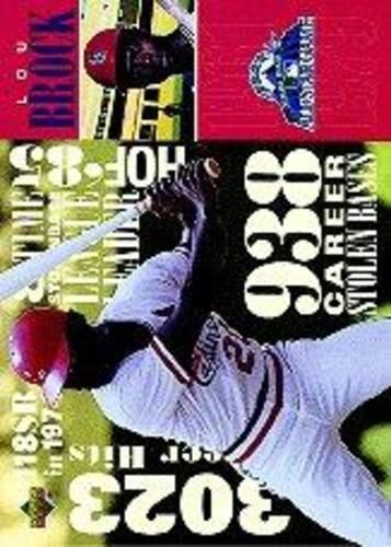 Photo of 1998 FanFest Brock #5 Lou Brock/Upper Deck