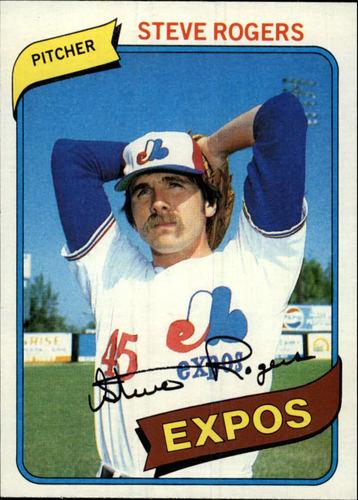 Photo of 1980 Topps #520 Steve Rogers