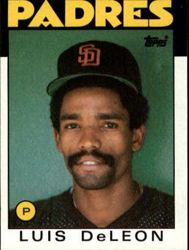 Photo of 1986 Topps #286 Luis DeLeon