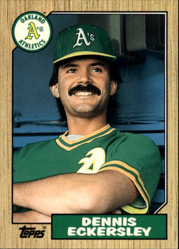 Photo of 1987 Topps Traded #31T Dennis Eckersley
