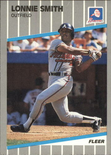 Photo of 1989 Fleer Update #74 Lonnie Smith