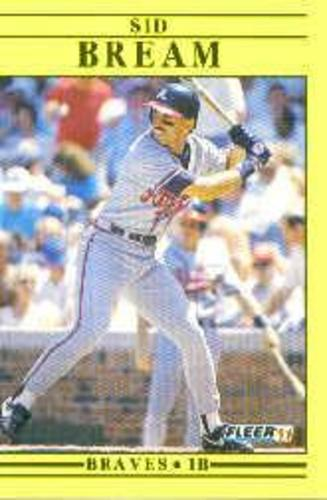 Photo of 1991 Fleer Update #72 Sid Bream