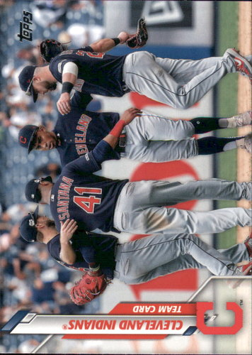 Photo of 2020 Topps #65 Cleveland Indians TC