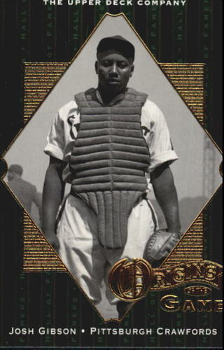 Photo of 2001 Upper Deck Hall of Famers #51 Josh Gibson OG