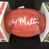 NFL - Vikings Alexander Mattison Signed Authentic Football