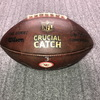 Crucial Catch - Chiefs Patrick Mahomes Signed Game Used Football (10/17/19)