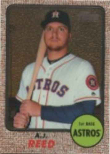 Photo of 2017 Topps Heritage Chrome #THC479 A.J. Reed