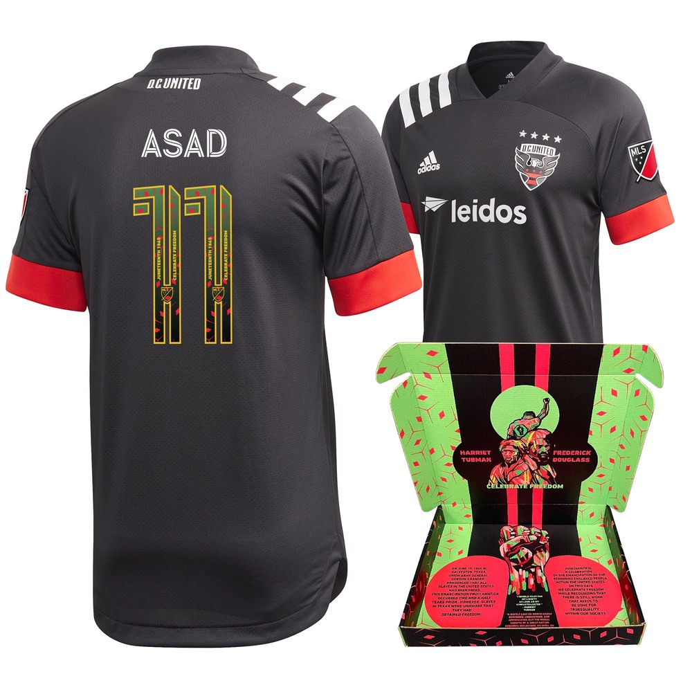 Yamil Asad D.C. United Match-Used & Signed