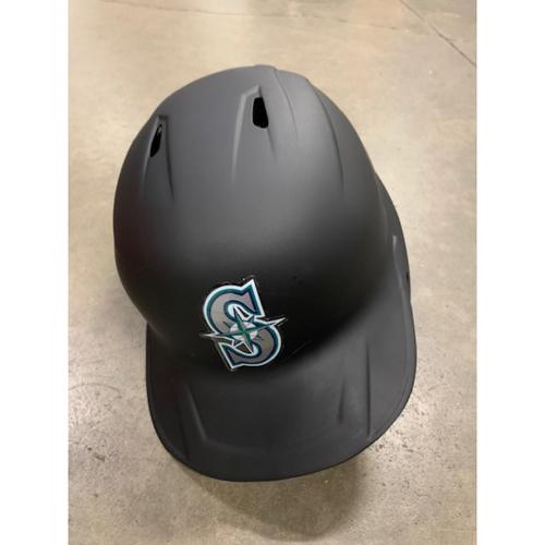 Photo of 2021 MLB Draft Used Helmet: Seattle Mariners