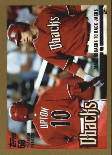 Photo of 2010 Topps Gold Border #510 Justin Upton/Mark Reynolds