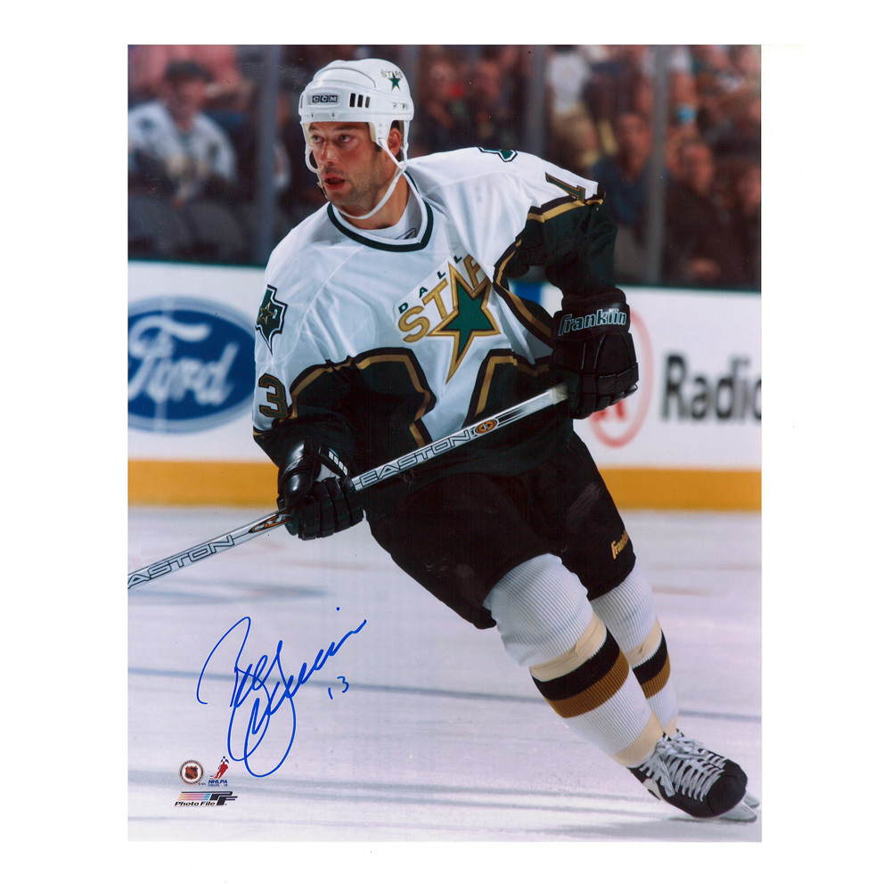 BILL GUERIN Signed Dallas Stars 8 X 10 Photo - 70179