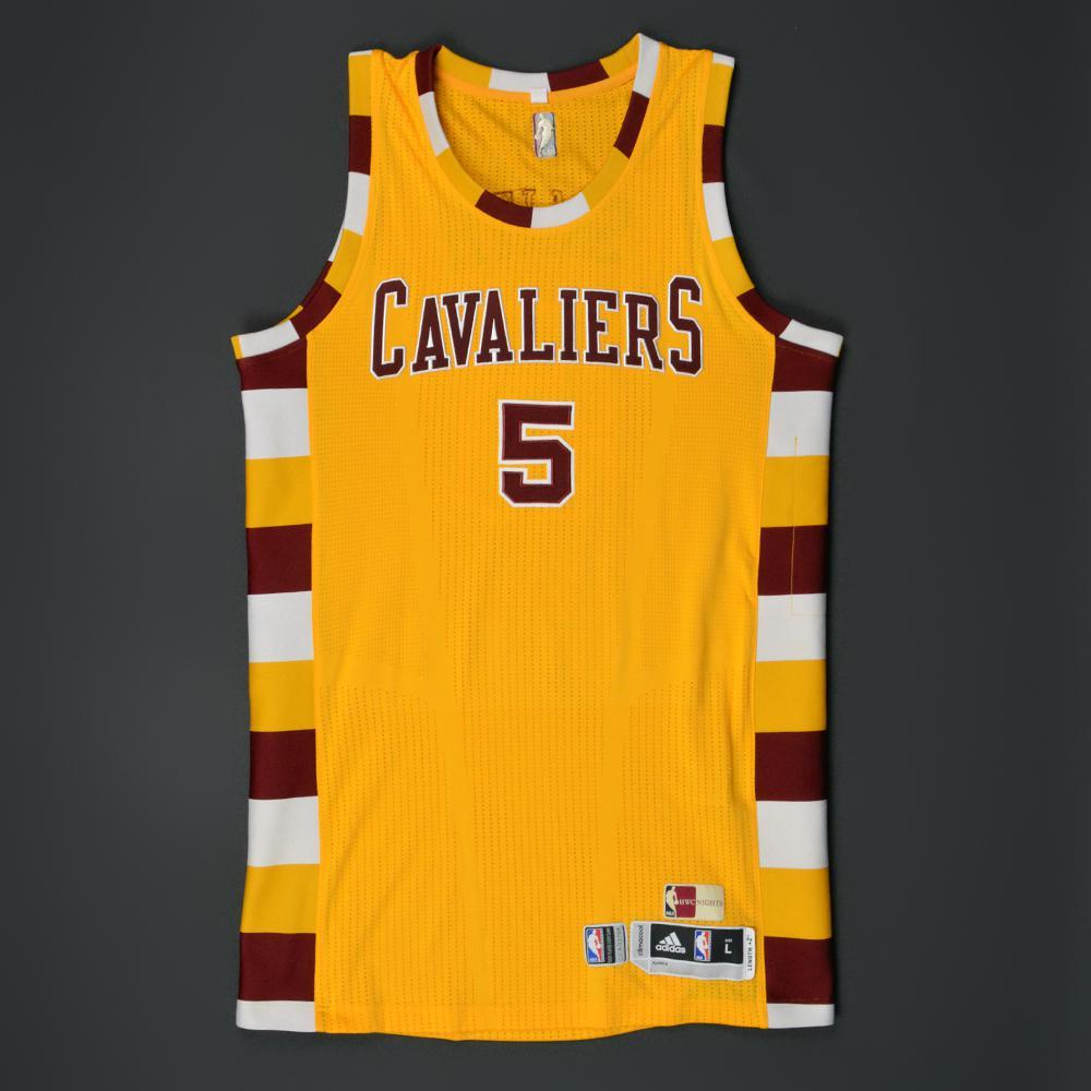 premium selection 9e83c 85f09 JR Smith - Cleveland Cavaliers - Game-Worn '1974-80 Hardwood ...