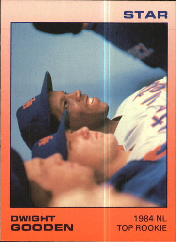 Photo of 1988 Star Gooden Glossy #8 Dwight Gooden/1984 NL Top Rookie
