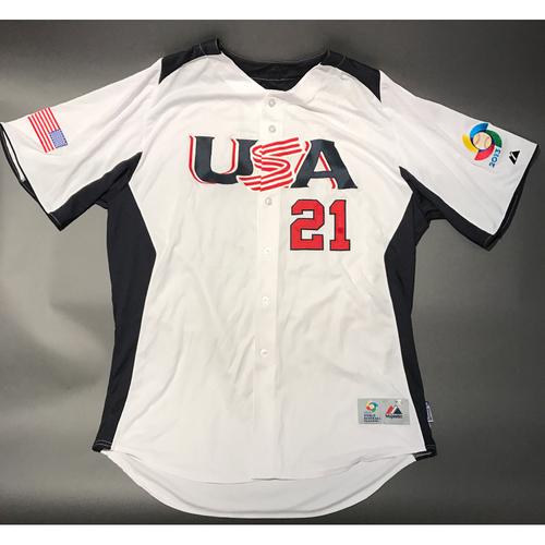 2013 World Baseball Classic Jersey - USA Jersey, Heath Bell #21