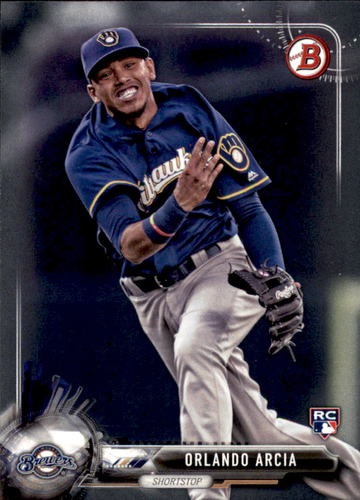 Photo of 2017 Bowman #41 Orlando Arcia Rookie Card