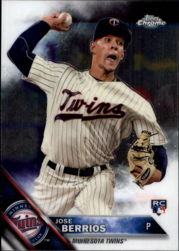 Photo of 2016 Topps Chrome #99 Jose Berrios Rookie Card