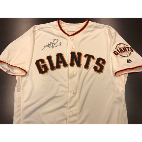 Giants Community Fund: Giants Jersey Autographed by Hunter Pence