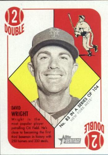 Photo of 2015 Topps Heritage '51 Collection #83 David Wright
