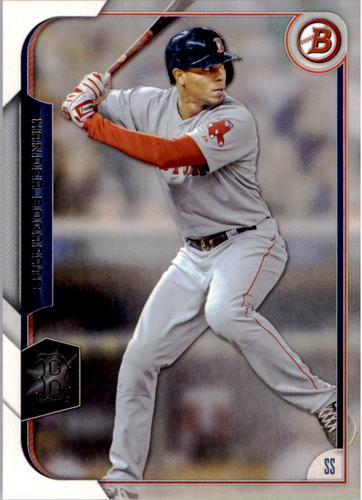Photo of 2015 Bowman #81 Xander Bogaerts