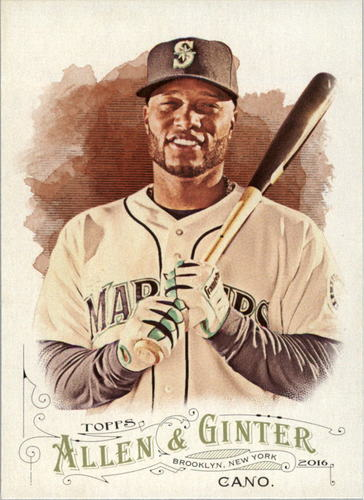 Photo of 2016 Topps Allen and Ginter #84 Robinson Cano