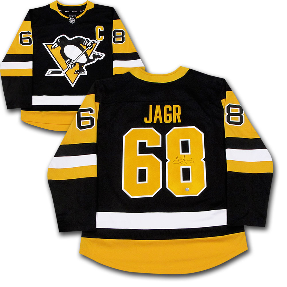 new style e9473 2028f Jaromir Jagr Autographed Pittsburgh Penguins Jersey - NHL ...