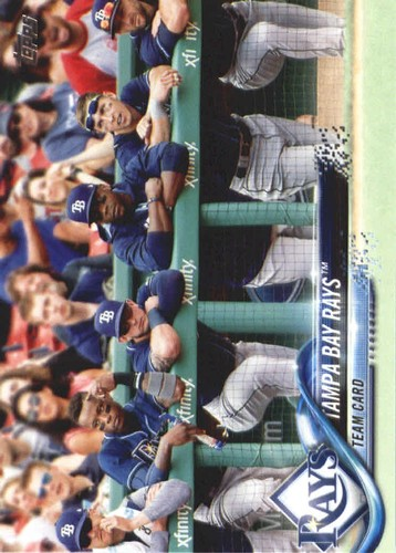 Photo of 2018 Topps #468 Tampa Bay Rays